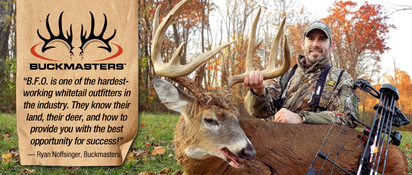 Ohio Hunting Outfitters for Whitetail Deer and Turkey Hunts