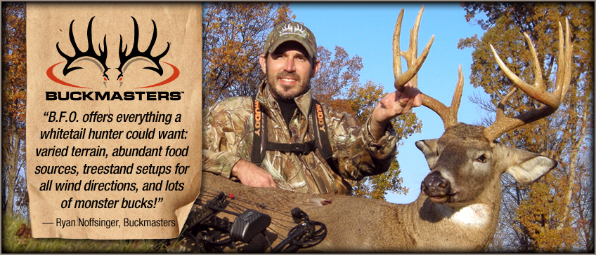 Ohio hunting outfitters endorsed by Buckmasters Magazine