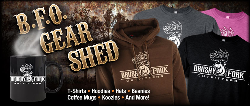 Grab some Brushy Fork Outfitters gear