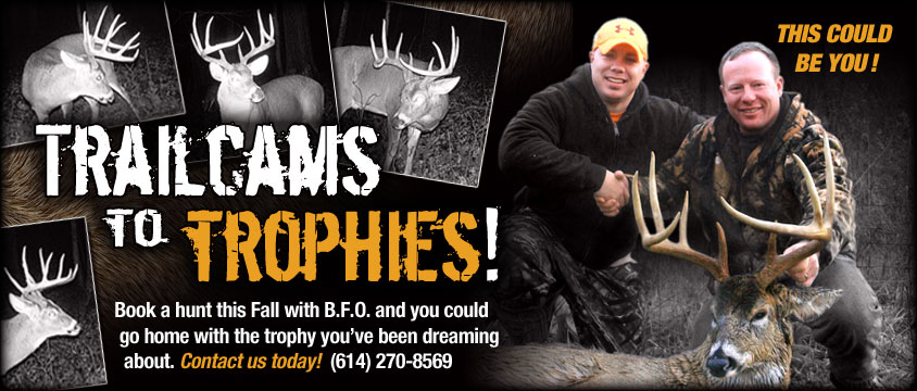 Trailcams to trophies: photos of Ohio hunting outfitters BFO